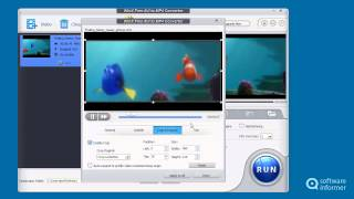 How it works: WinX Free AVI to MP4 Converter