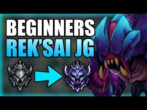 HOW TO PLAY REK'SAI JUNGLE & CLIMB FOR BEGINNERS! - Best Build/Runes S+ Guide - League of Legends