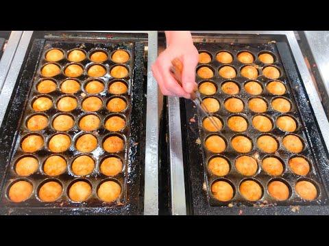 japanese street food - best TAKOYAKI compilation