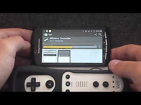 HMN - Wiimote as Android controller (Wiimote Controller)