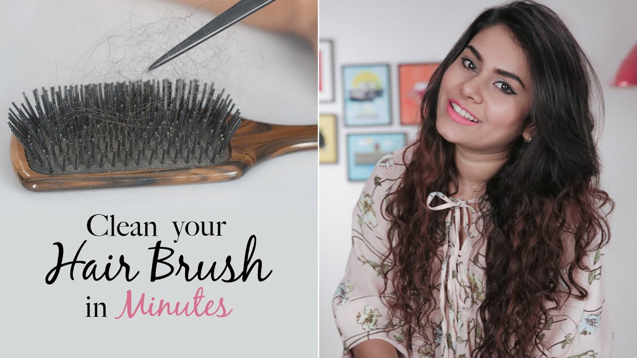 how to clean out your hairbrush