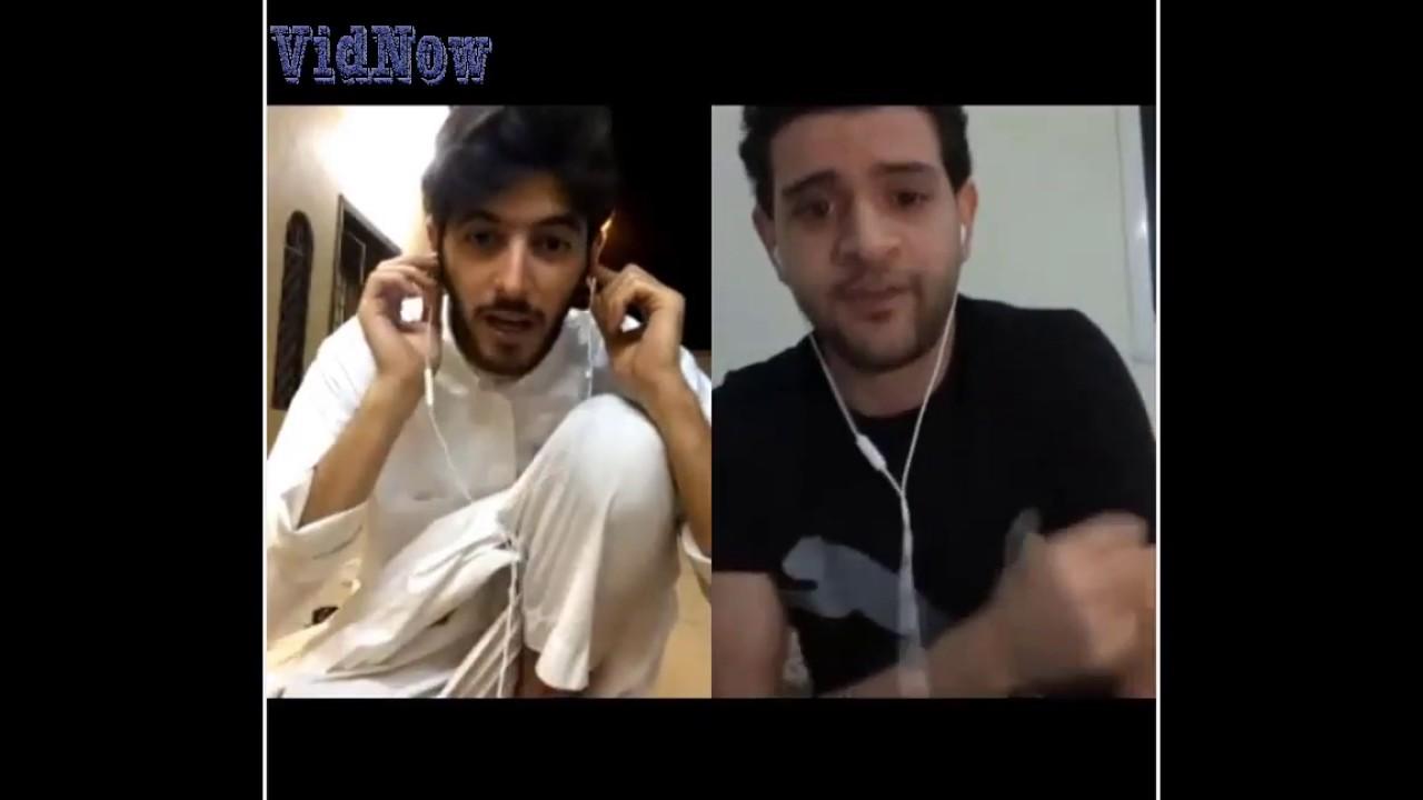 احلى قست بين سعد و عمر المصري مقطع مضحك جدا