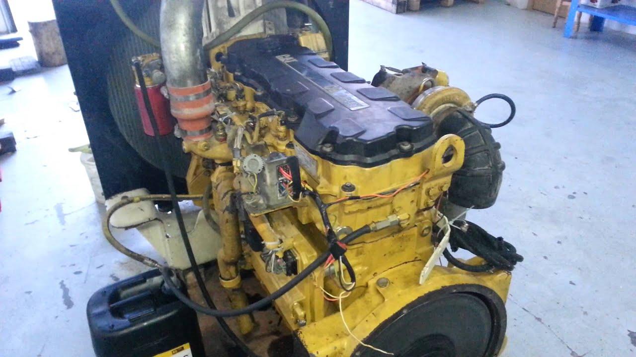 Conemixt - CAT C9 Engine tests in workshop