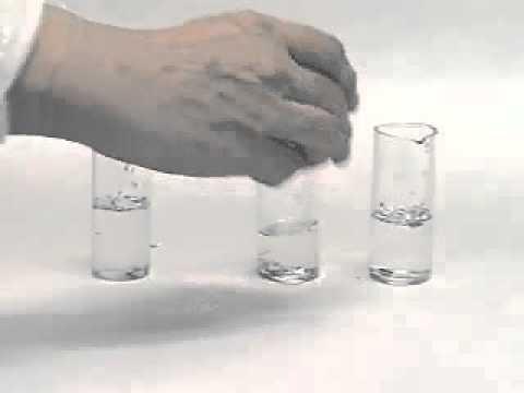 реакция магния с водой это вместе делает