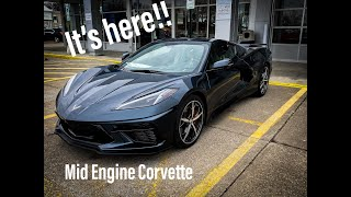 2020 Chevy Corvette C8 -- It's Here!! - Review and Walk around