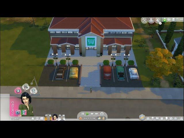 Szupermarketes csínytevés/ Bűnöző Demóna 24#/The Sims 4