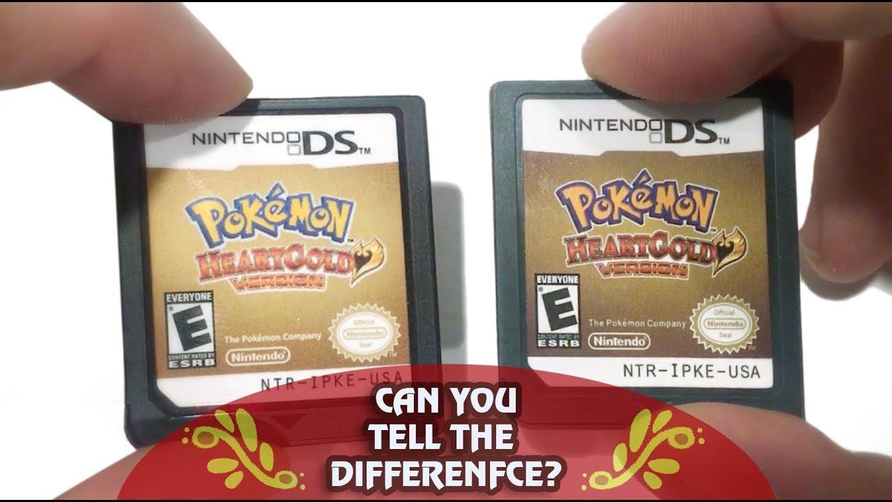 How To Spot A Fake Pokemon Platinum Nintendo Ds Game Cartridge Youtube