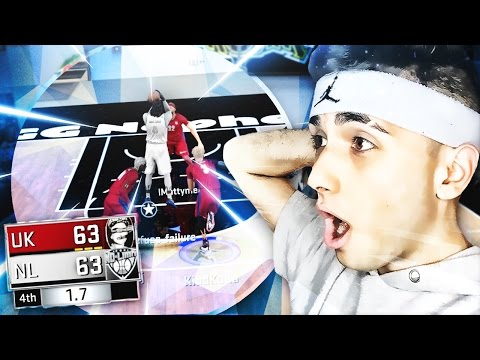 TOP RANKED NBA 2K17 COMP PRO-AM #9 VS #12 TEAM w/ INSANE GAME WINNER! GOD SAVE THE QUEEN v. NO LIMIT
