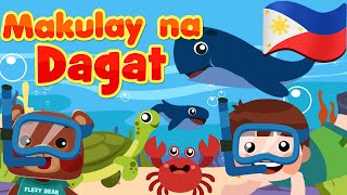 Makulay na Dagat | Flexy Bear Originals | Mga Awiting Pambata Filipino