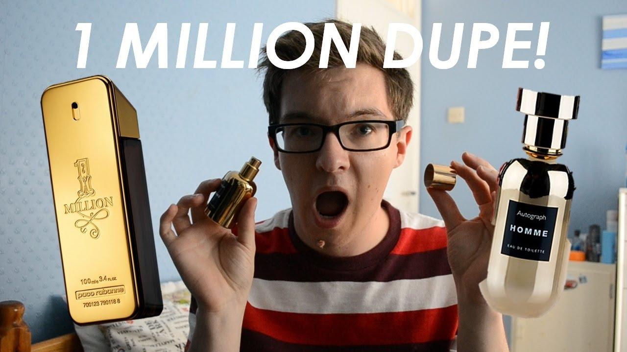 Cheap Paco Rabanne 1 Million Dupe Youtube Man Fdt 100ml