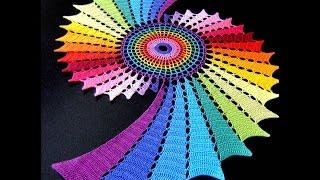 САЛФЕТКИ, Связанные Крючком -видео - 2019 / Napkins, crochet -Video