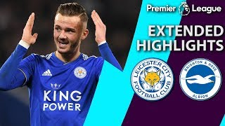 Leicester City v. Brighton | PREMIER LEAGUE EXTENDED HIGHLIGHTS | 2/26/19 | NBC Sports