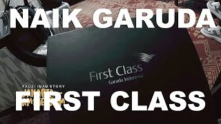 TRAVEL - VLOG.Terbang Bersama Garuda First Class!!!