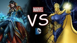 Dr.Strange Vs Dr.Fate - Comic Clash S1E3