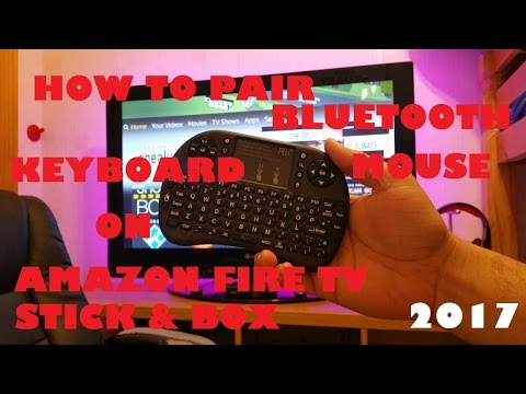 How to Pair Bluetooth Keyboard and Mouse with Amazon Fire TV Stick / Box  Review