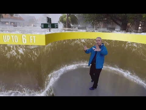 How Did The Weather Channel Make This Hurricane Graphic?