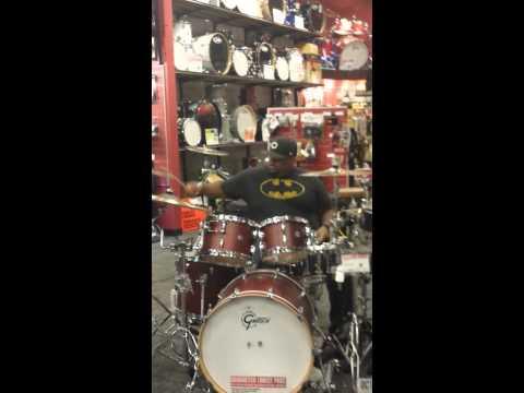 Pat Richie@ Somerville NJ Drum off