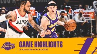 HIGHLIGHTS | Los Angeles Lakers vs Portland Trail Blazers