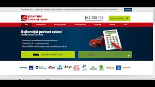 Havarijní pojištění kalkulačka - návod na vyplnění