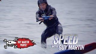 Guy's Foil Board Training | Guy Martin Proper