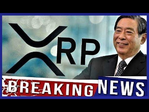 RIPPLE XRP BREAKING NEWS:  SBI CEO Newest Statement