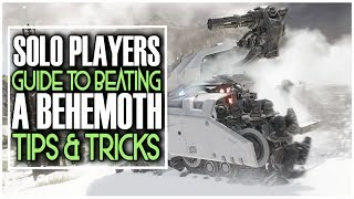 SOLO PLAYERS GUIDE TO BEATING A BEHEMOTH IN GHOST RECON BREAKPOINT - TIPS & TRICKS