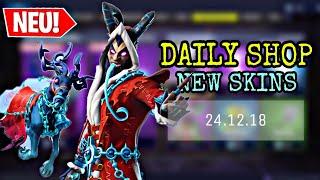 FORTNITE DAILY ITEM SHOP 24.12.18 | KRAMPUS SKIN IST DA!!