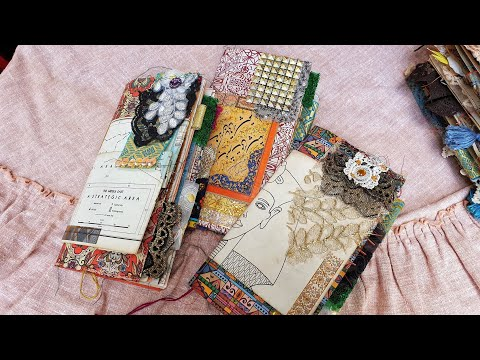 Middle East Travels Junk Journal Series | Boho Arab and Egyptian