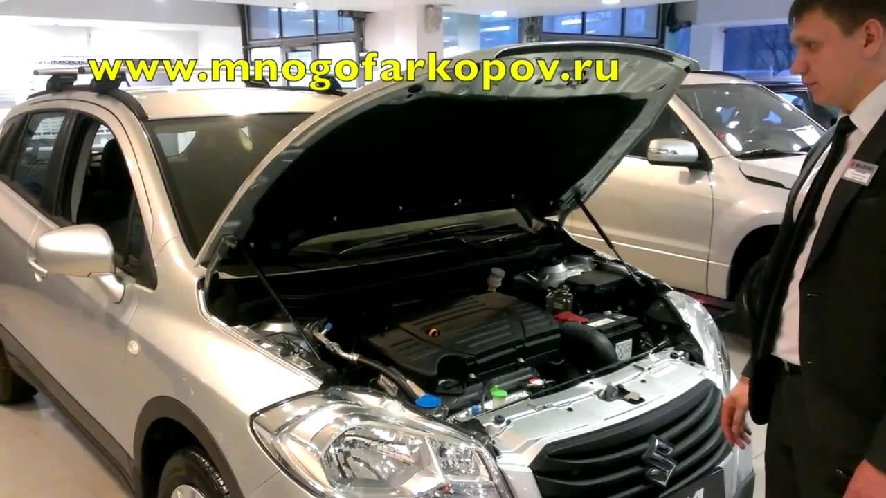 Амортизатор капота на Suzuki SX4 KU-SZ-SX02-00 (обзор)