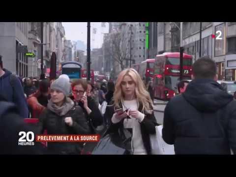 Prélèvement à la source:  l'exemple britannique