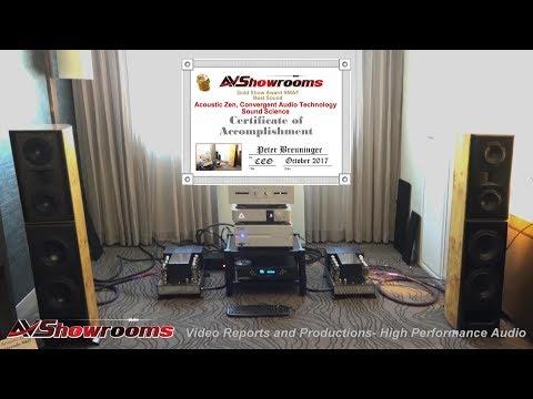Acoustic Zen, Convergent Audio Technology, Sound Science, RMAF 2017