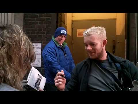 Meeting Russell Tovey  nyc