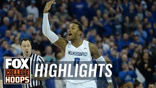Villanova vs Creighton | Highlights | FOX COLLEGE HOOPS