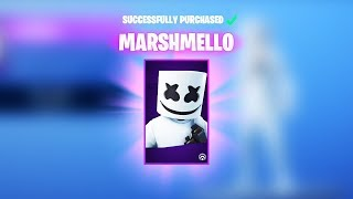 🔴FREE MARSHMELLOW SKIN! GIVEAWAY (Fortnite Battle Royale)