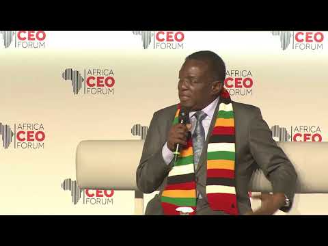 "AFC 2018 : Emmerson Mnangagwa - ""Let Africa develop in terms of democracy"""