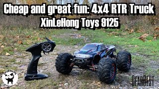 XinLeHong 9125: A cheap and great 4X4 RTR RC Truck, supplied by Gearbest
