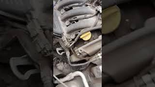 Стук натяжного ролика ремня ГРМ Рено 1.6