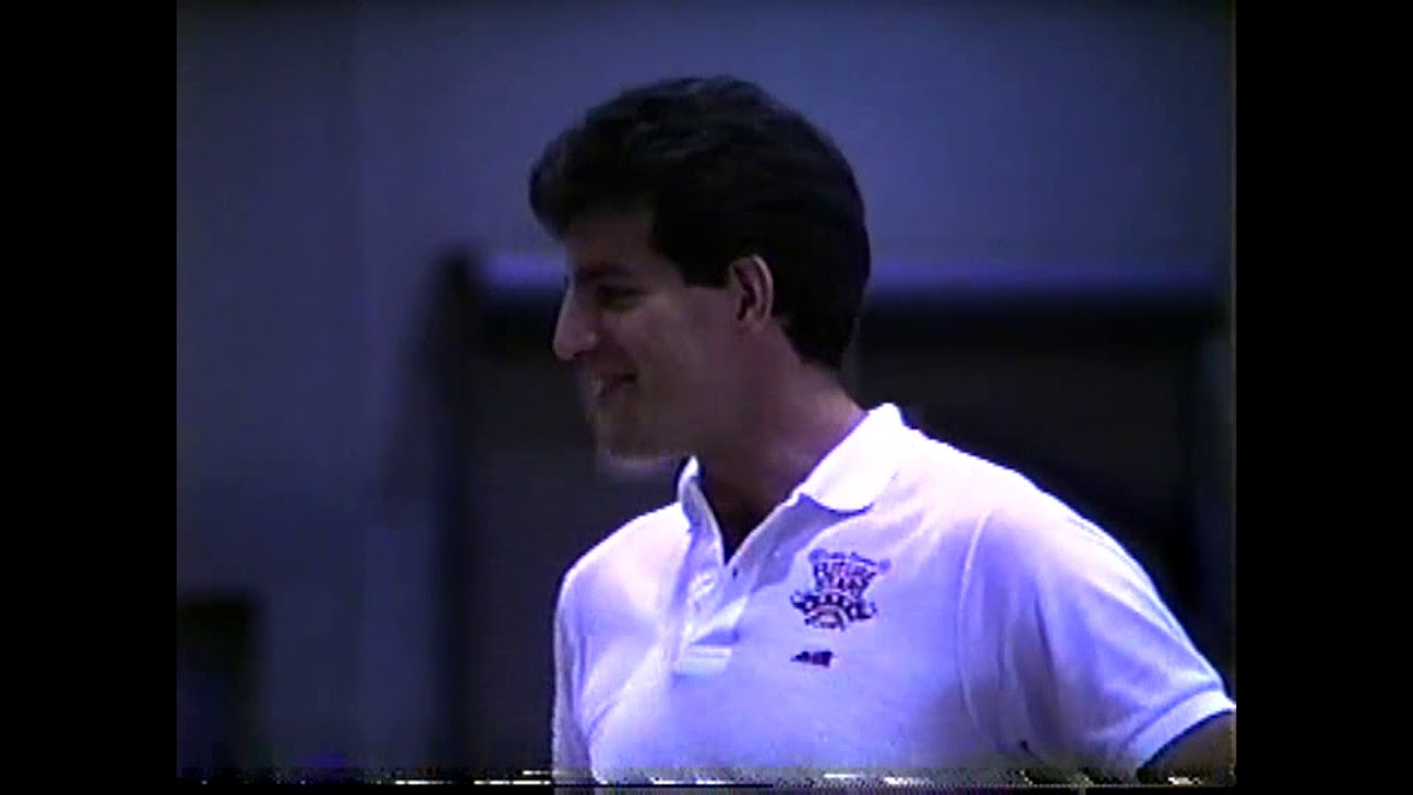 Dan Schayes at PSUC Camp  6-30-88