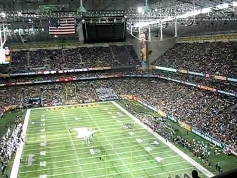 2011 Alamo Bowl Game Pan View From My Seat In The Alamodome Thurs 12 29 11