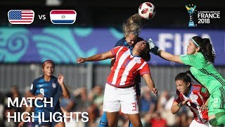 USA v. Paraguay - FIFA U-20 Women's World Cup France 2018 - Match 13