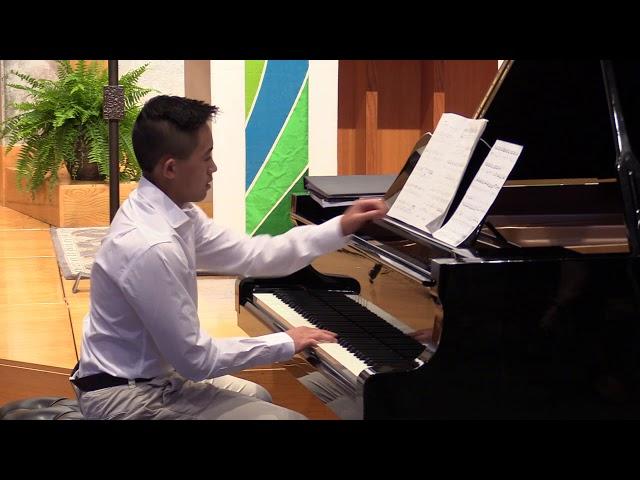 W.A.Mozart, Sonata in Bb, K. 570, Allegro