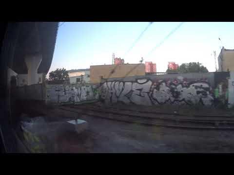Курский вокзал-Битца (из окна поезда)