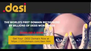 101domain.com and .DESI, The New Domain for Desis