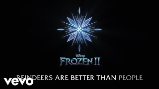 """Jonathan Groff - Reindeer(s) Are Better Than People (Cont.) (From """"Frozen 2""""/Lyric Video)"""