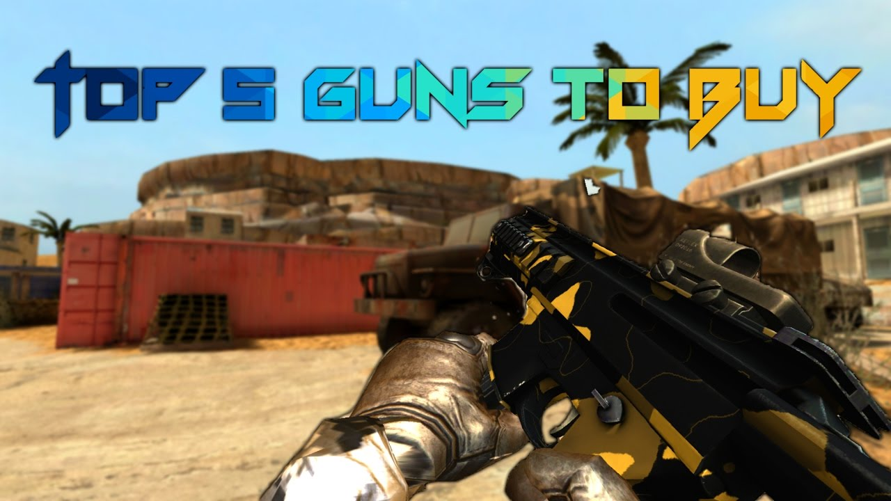 Bullet Force Top 5 Guns To Buy Youtube