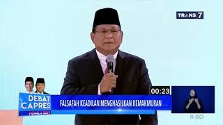Akui Punya Tanah Ribuan Hektare, Prabowo: Silakan Diambil!  | DEBAT CAPRES KEDUA PILPRES 2019