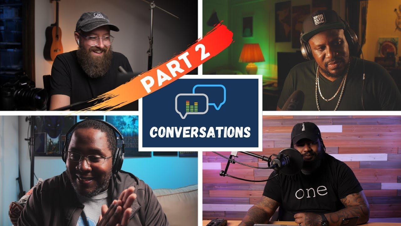 Experience as a Black Content Creator // Part 2 // Conversation with Bobby, Thomas and Shaoba