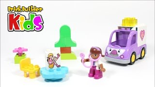 Lego Duplo 10605 Doc Mcstuffins Rosie The Ambulance - Lego Speed Build For Kids
