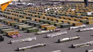 Doğu Guta'daki militanlara giden silah dolusu kamyon ele geçirildi