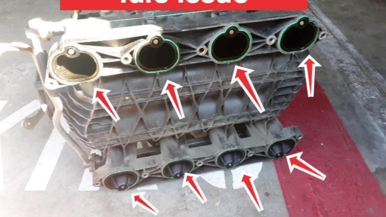 3 Signs Of A Bad Intake Manifold Gasket Leaks And Symptoms Youtube